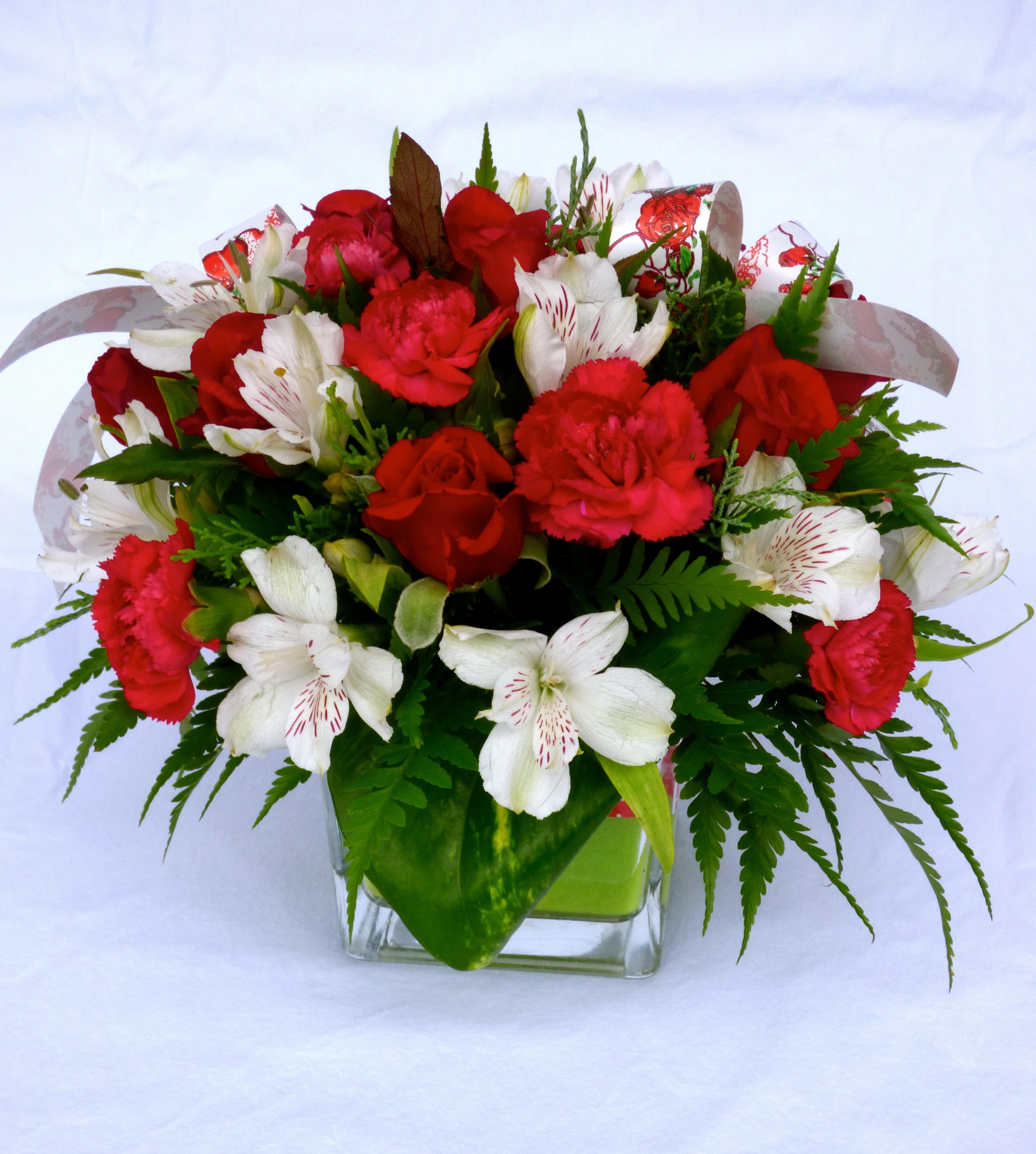 Bouquet De Fleur Pour St Valentin romance